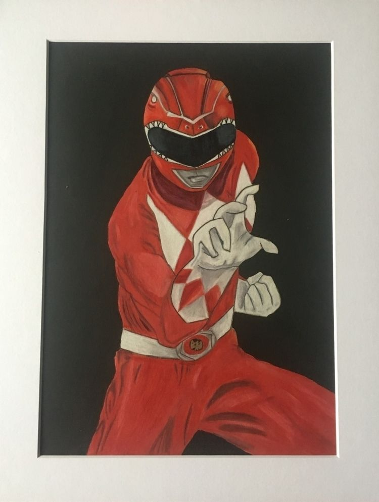 knew 35 drawing Power Ranger?!  - jellytots | ello