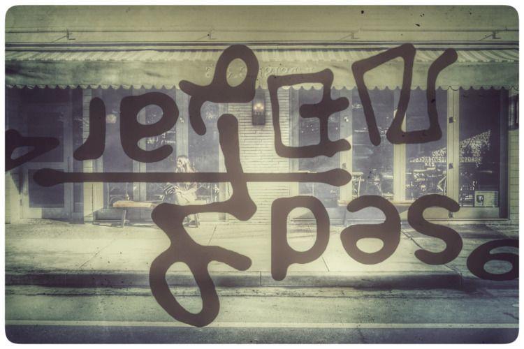 Postcards Photo Rob Bye Asemic  - tvansantana | ello