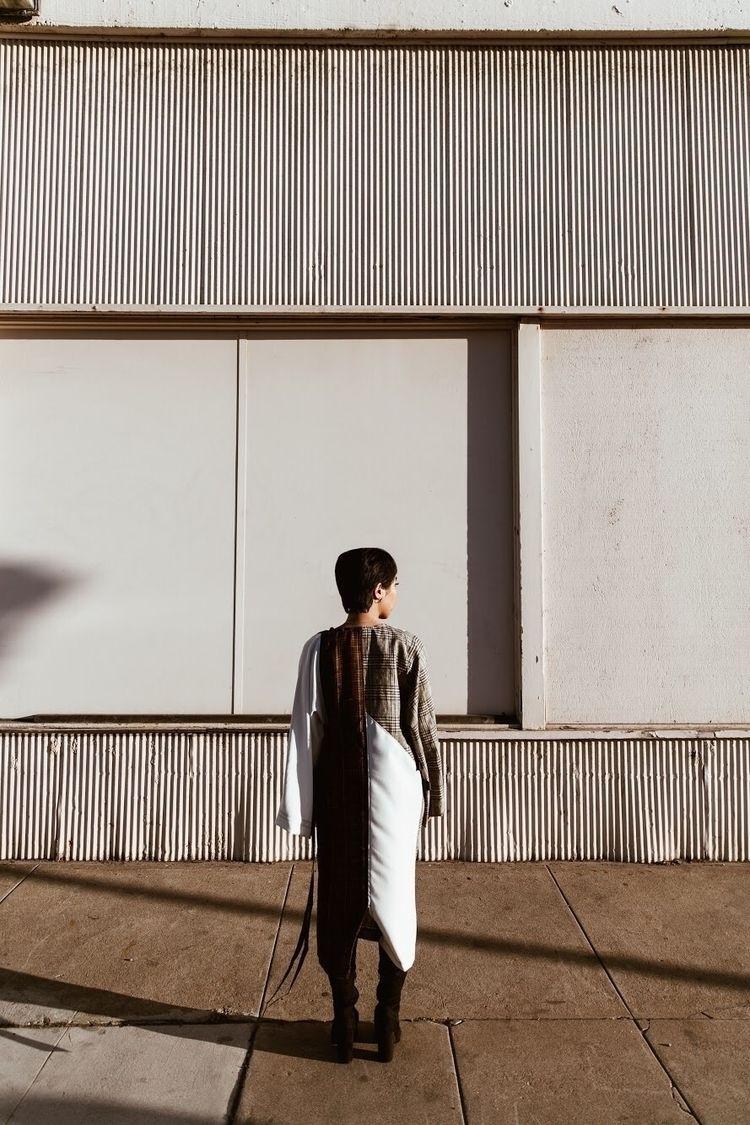 Riza Clave wearing designs // 🖤 - lesliecolonphoto | ello
