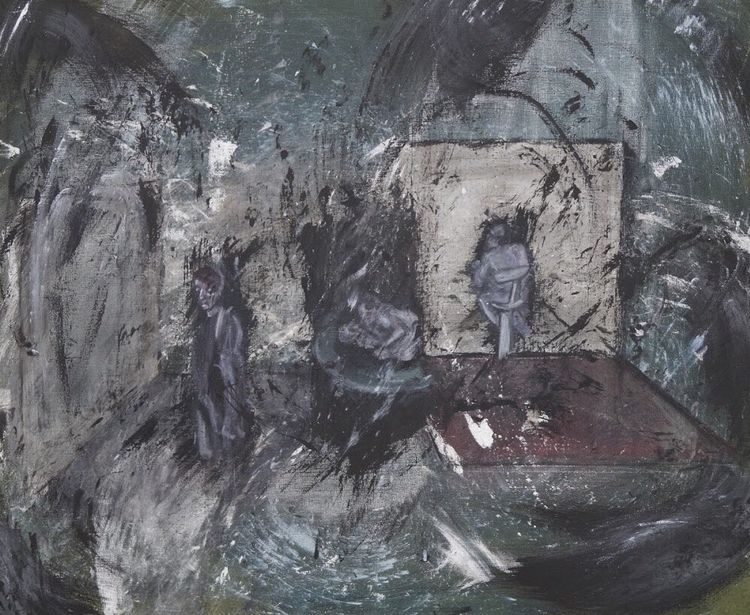Fragmentation (Oil canvas, Oct - johannbaerenklau | ello