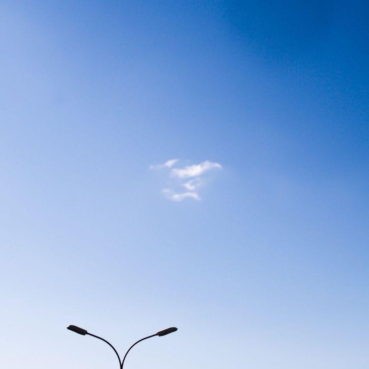 Ciel seul - photography, blue, mymood - msr_mood | ello