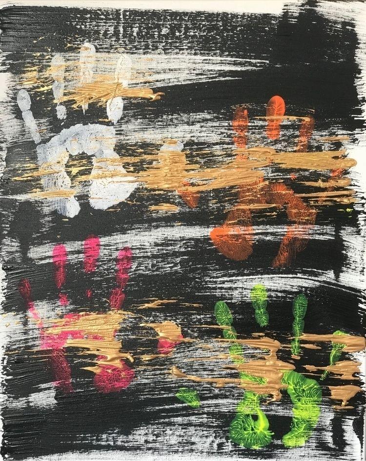 Stranded Desires Acrylic 50x50c - brllgallery   ello