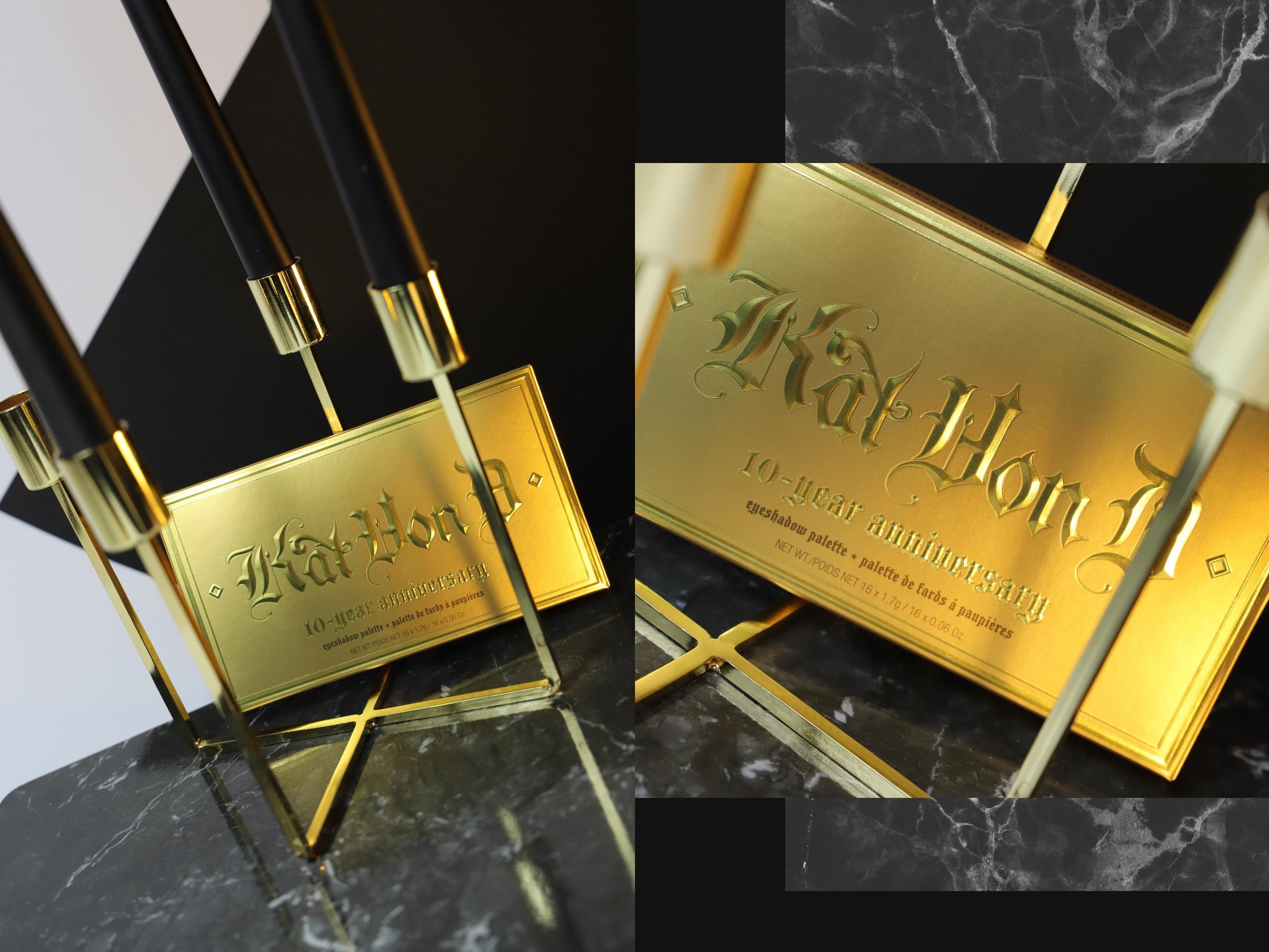 Obraz przedstawia dwa zdjęcia złotych pudełek z napisami.