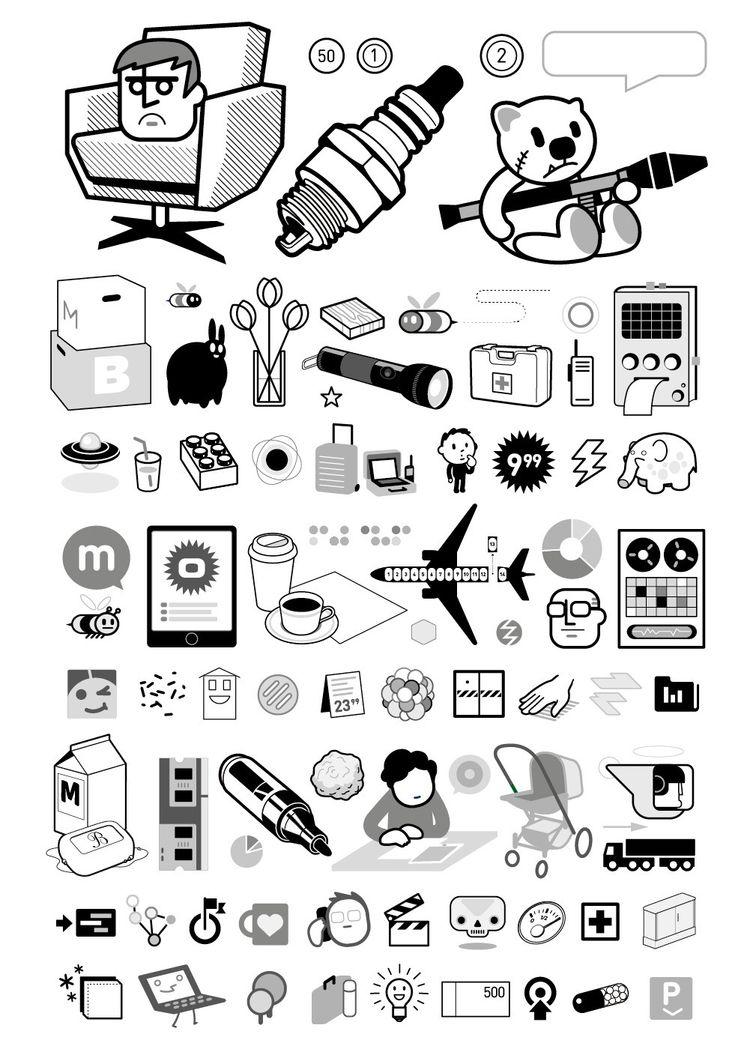 MB Icon Collection projects - TeddyRPG - martinbaaske   ello