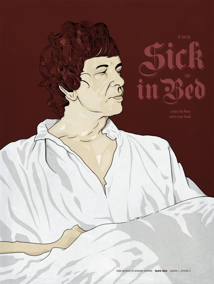 Sick Bed Digital, 2018 - blacksails - notbadart   ello