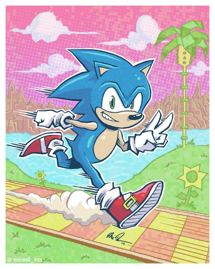 Sonic Hedgehog loves. heavy dos - maxwell_inxx | ello