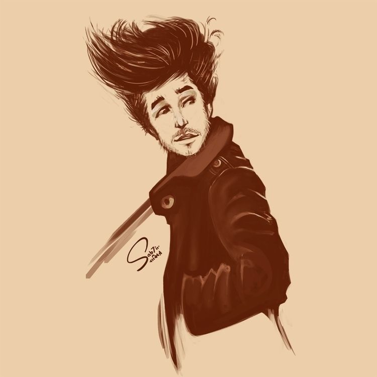 digital, painting, sketch, character - sab7ir | ello