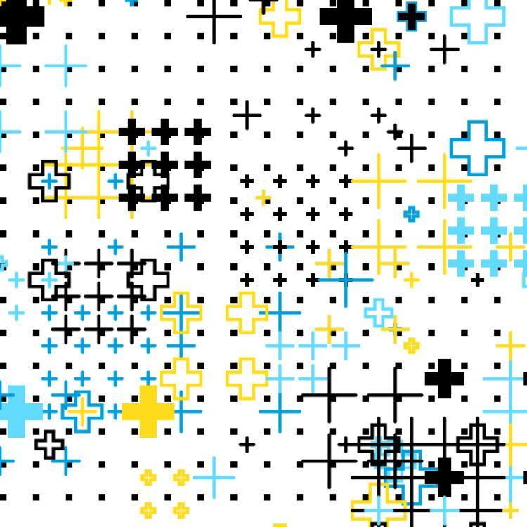 Geometric Shapes / 180531 - processing - sasj   ello