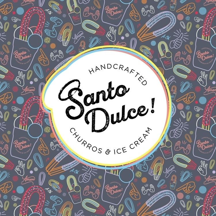 SANTO DULCE! Brand Identity Mia - amlgmatd | ello
