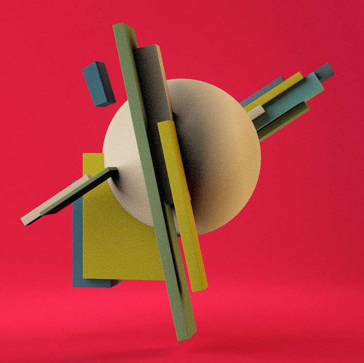 design, graphic, 3d, suprematism - magdaarques | ello