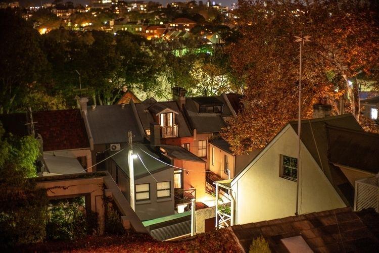 Autumn night, suburbia - LeicaM - josim1100 | ello