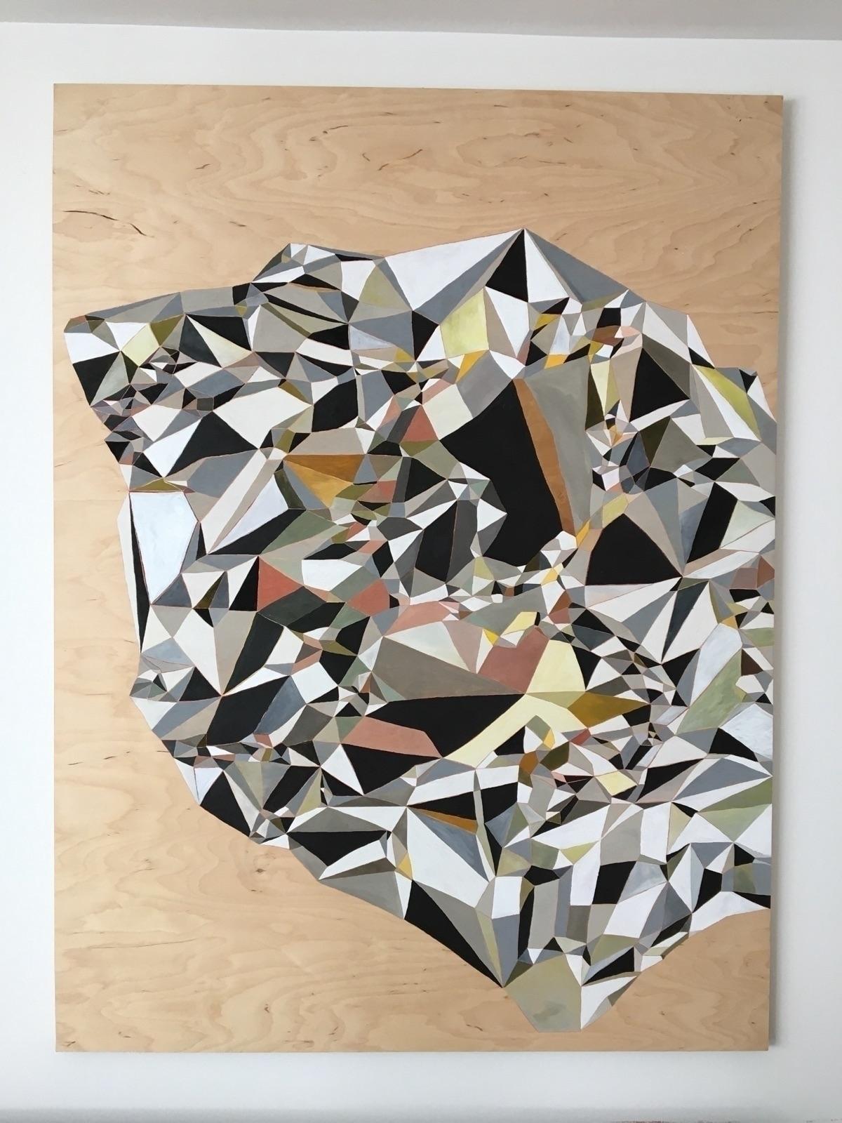 gouache wood panel - 2 months w - michaelje2s | ello