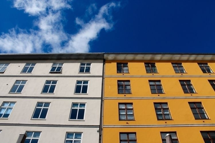 Bergen - norway, yellow, building - ibenkonig | ello