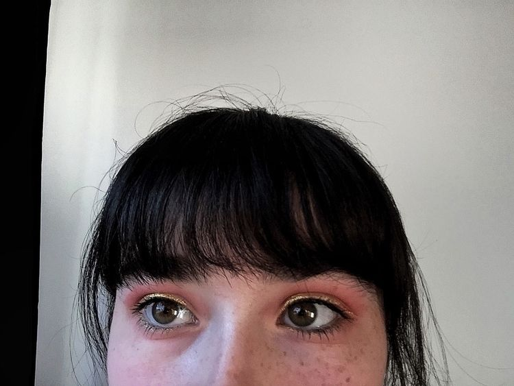 Gold liner freckles:two_hearts - ruthelainemerry | ello