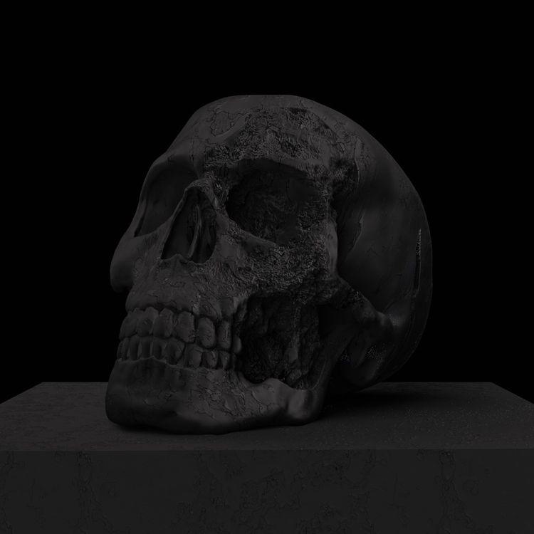 Dark side skull Instagram - cgi - mattiafalo | ello