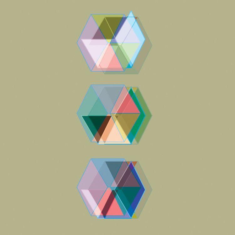 DROP BOX - comma, colorful, geometric - comma_art   ello