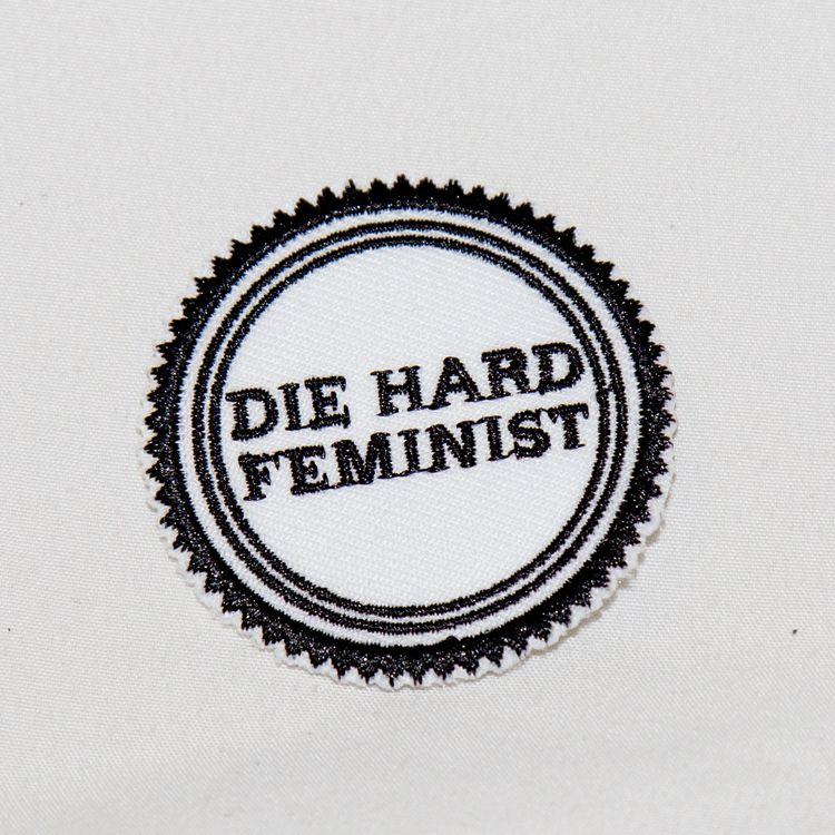 2 DIE HARD FEMINIST IRON PATCH - freedomlennon | ello