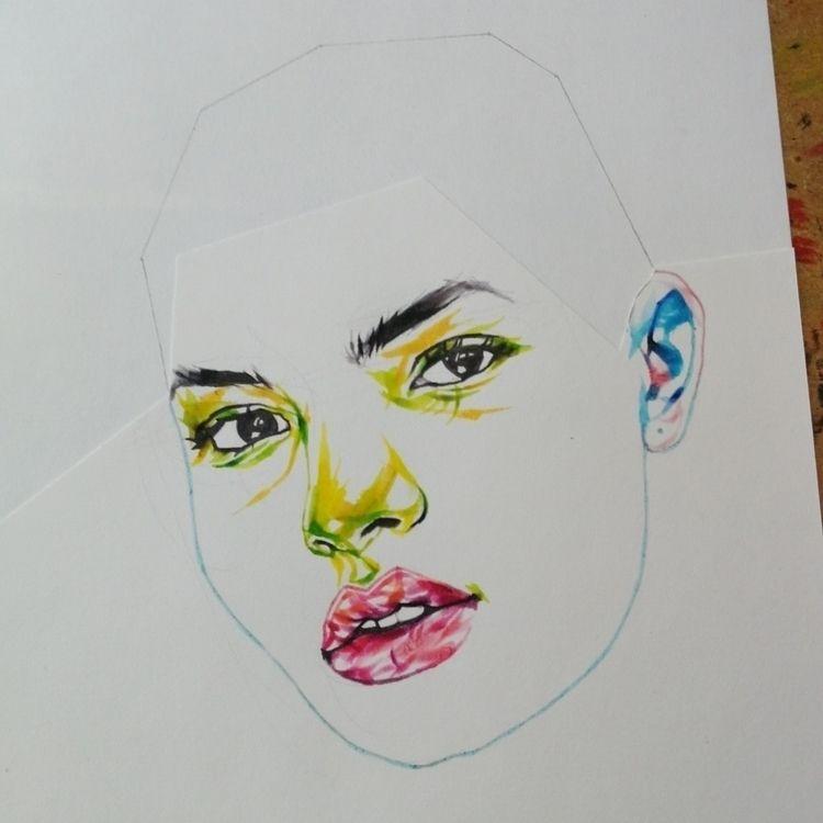 Experimenting. 🤷 - mrfrivolous, art - mrfrivolous | ello