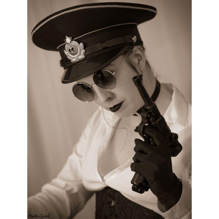 vintage, luger, military, russiancap - walterzeick | ello