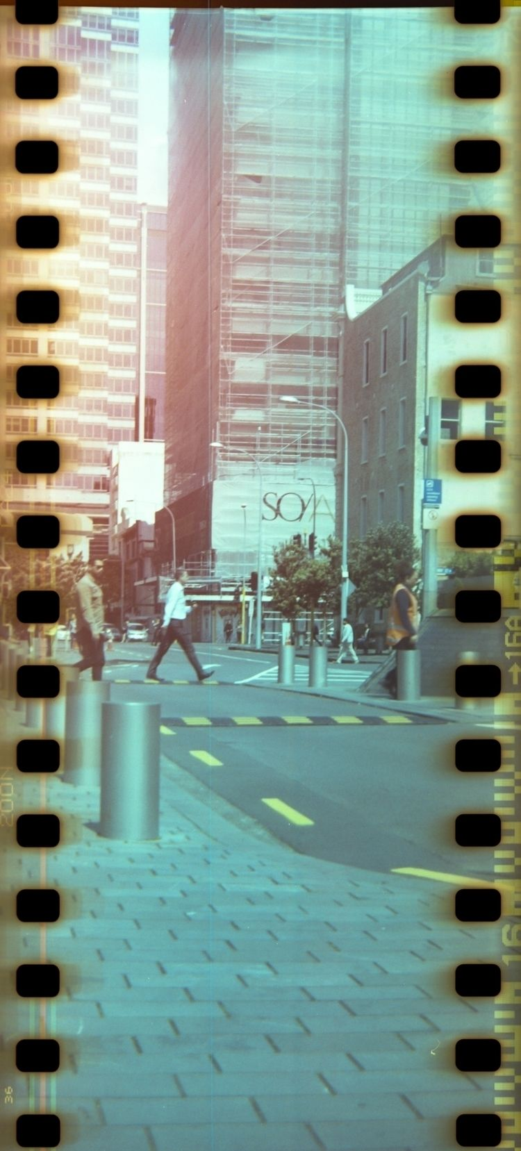 Downtown Auckland, abused 35mm  - the_valcano | ello