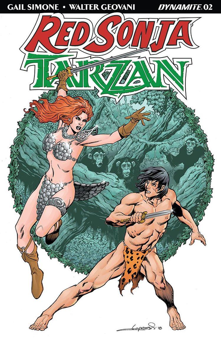 Red Sonja/Tarzan Review long ti - comicbuzz | ello
