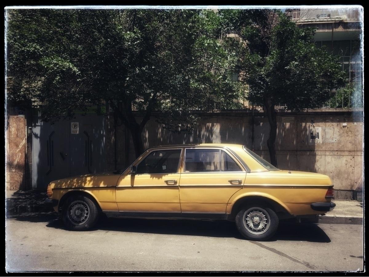 Yellow car - photography, photographer - farangises | ello