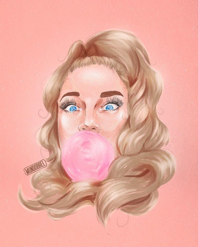 Grav3yardgirl Instagram - art, illustration - mundobrel | ello