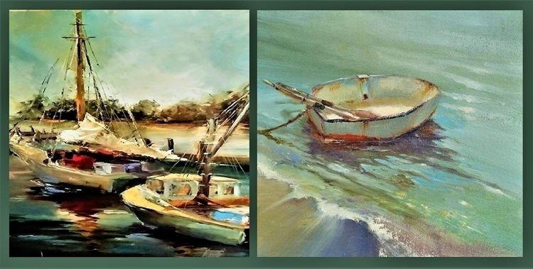 Plein Air Green Hearts boats sa - pasitheaanimalibera | ello
