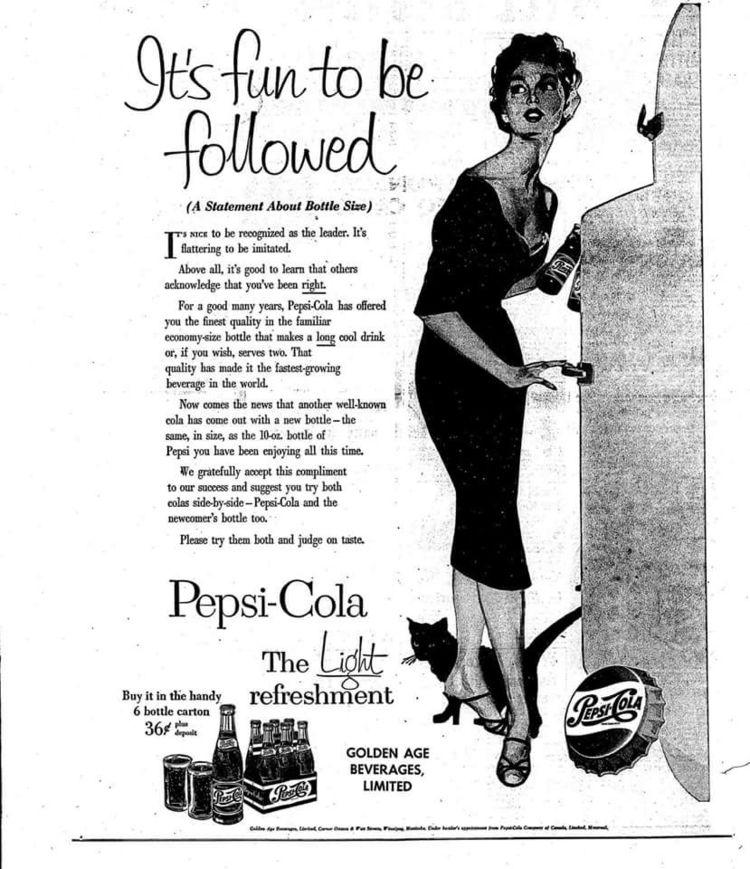 Caturday, VintageAd, Pepsi - robogiggles | ello