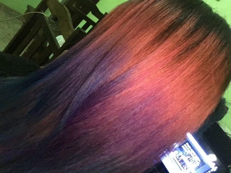 Finalmente meu cabelo fico da c - ag_roby   ello