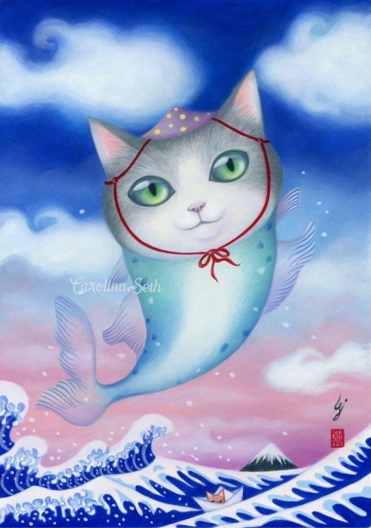 Meow! Fishkat Presenting Fishy - carolinaseth | ello
