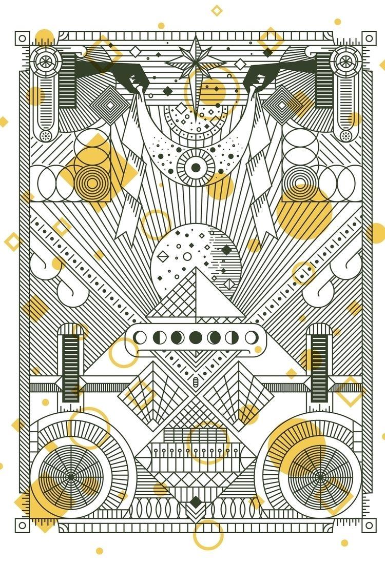 Lunar Body Print - wattlendaub   ello