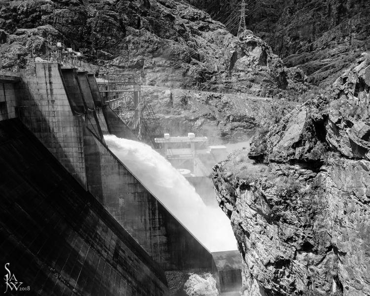 hells.canyon.dam - idaho, blackandwhite - jwsubastra | ello