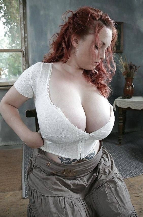 redhead / big pale boobs - tits - cecile666flesh | ello