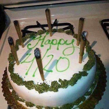 Weed Cake, cool birthday 420 - lolosbri | ello