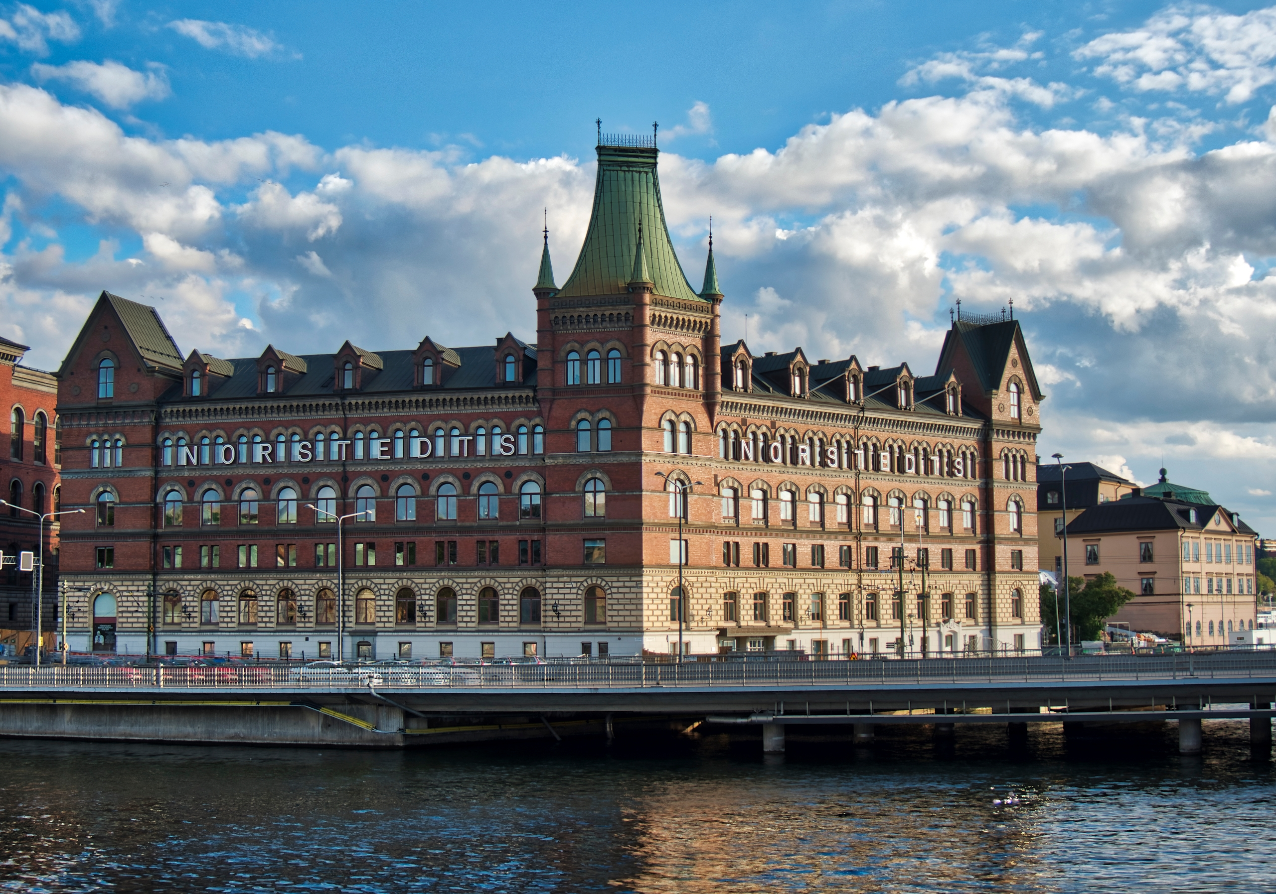 Norstedts - Stockholm building  - neilhoward | ello