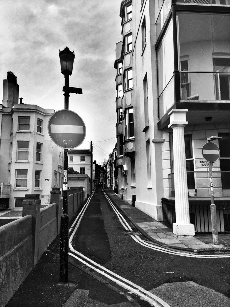 Stop Signs Kemp Town Street - brighton - andybroomfield | ello