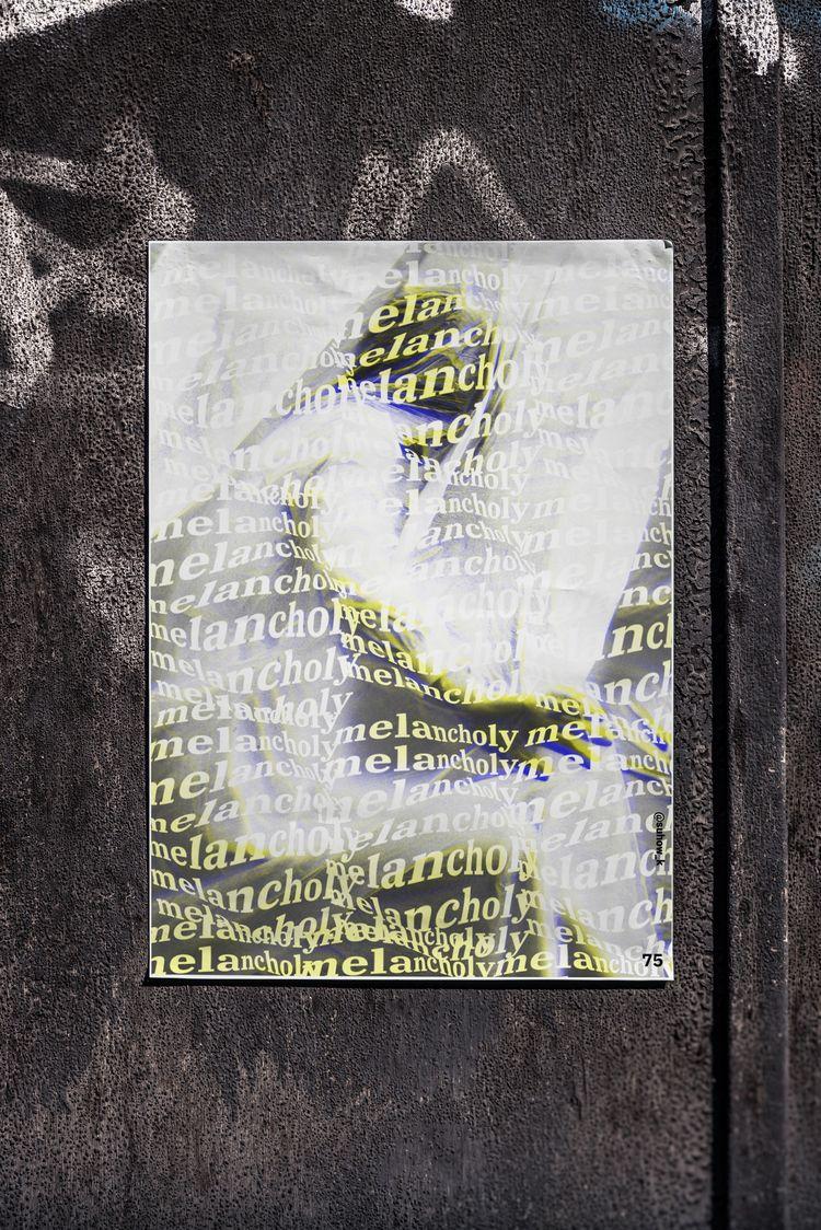 poster day №75 - glitch, glitchart - suhow_k | ello