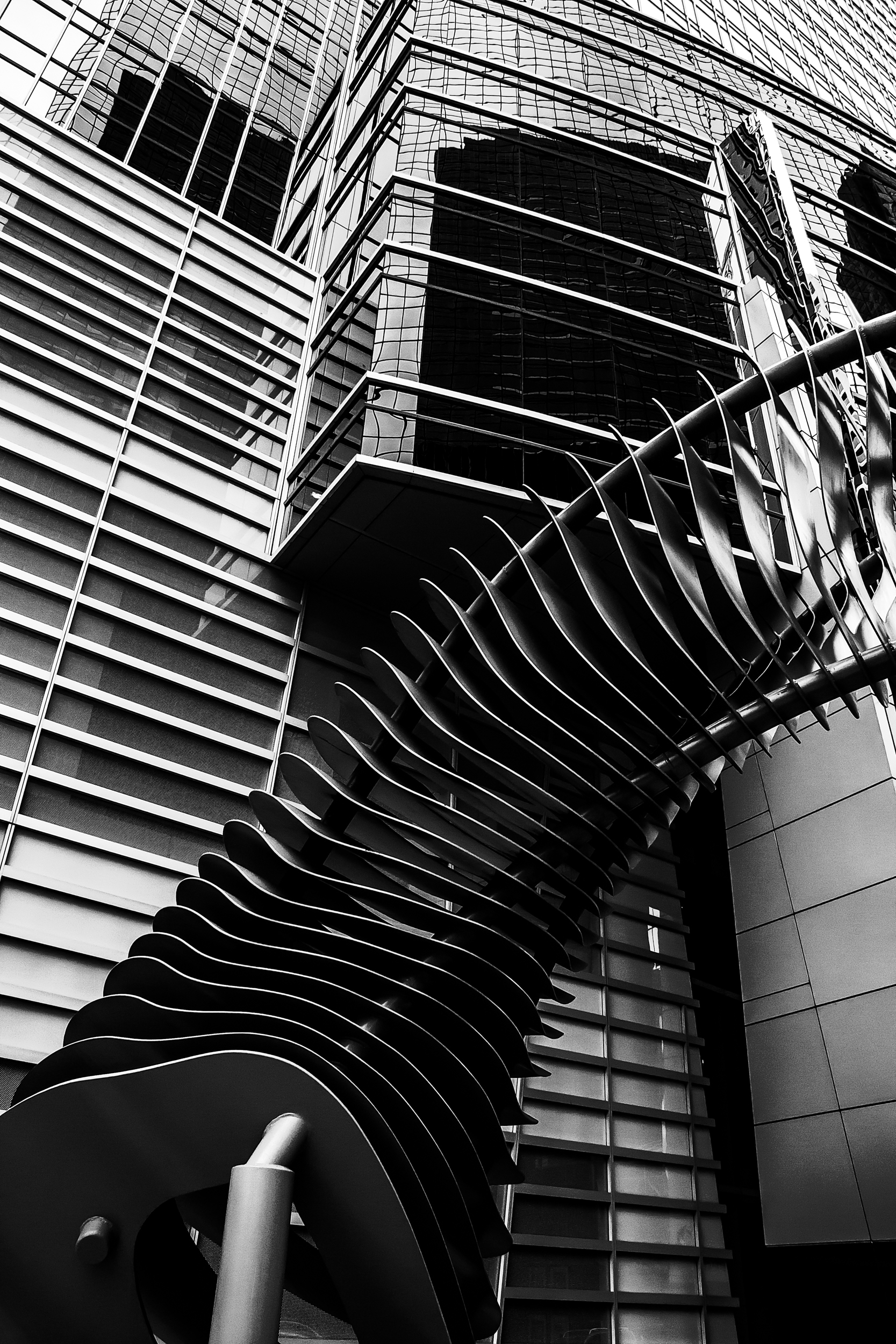 Sculpture front office tower, C - johnnyg_photography | ello