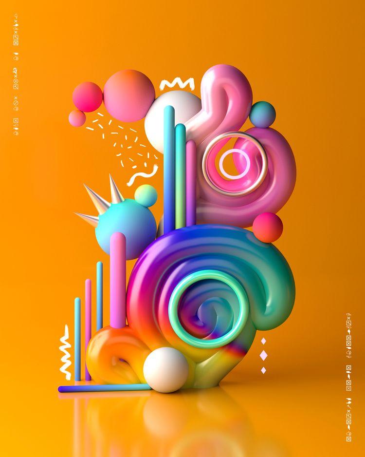 Prateek graphic artist designer - fabrik | ello