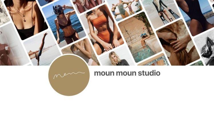 moun Studio swimwear brand. dev - mounmounstudio | ello