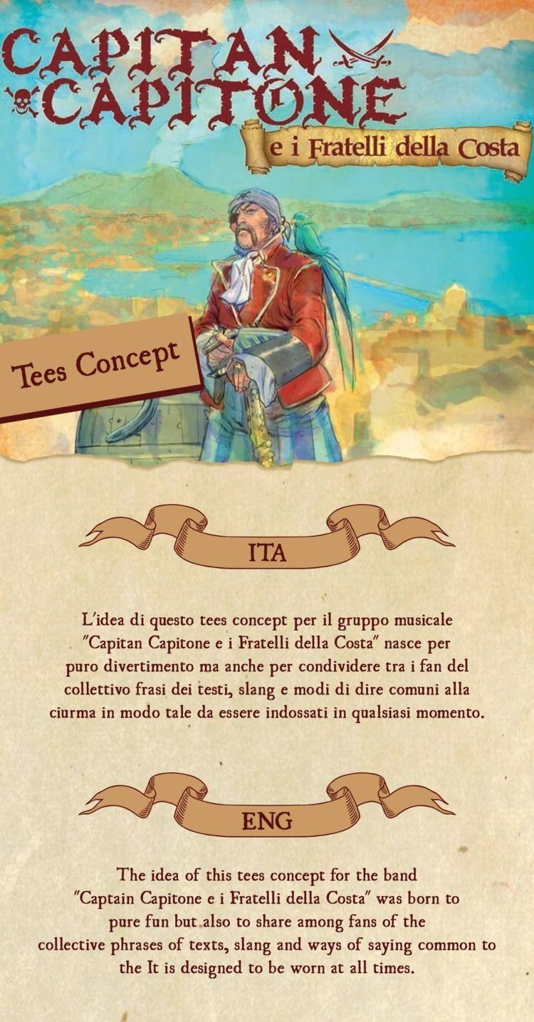 CAPITAN TEES CONCEPT - capitancapitone - emotive_ | ello