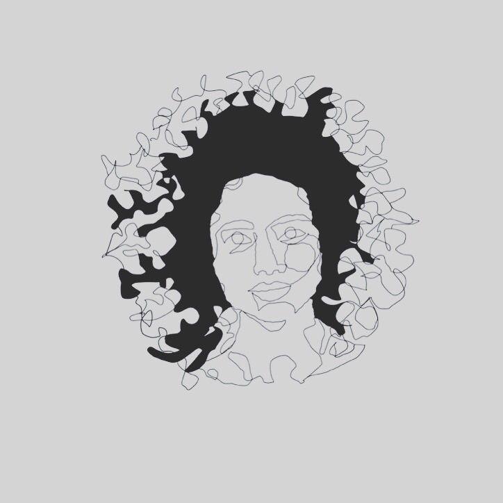 Afromedusmandalagirl  - girl, mandala - heiniistgegenalles | ello