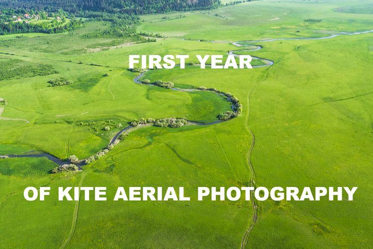 year blue Rokkaku kite fly - ca - kap_jasa | ello
