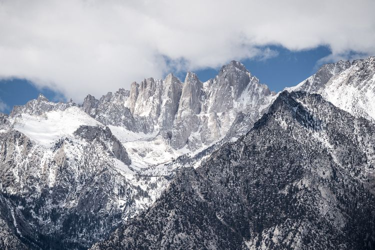 Freshly clad snow Mt. Whitney f - scorpioonsup | ello