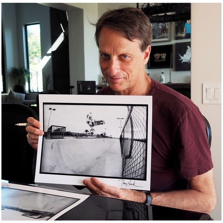 printed photos Tony Hawk 1983 l - jordangrantbrittain | ello