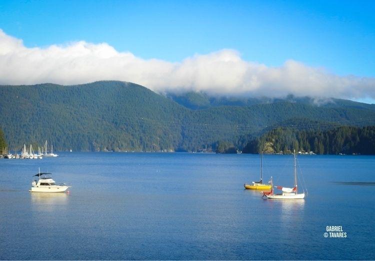 landscape, vancouver, lake, veleiro - tavaa | ello