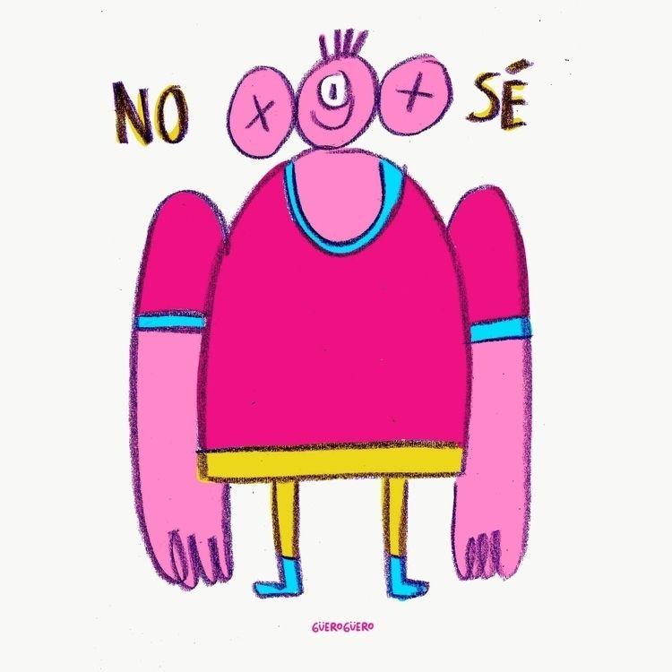 doodle, drawing, digitaldrawing - gueroguero | ello