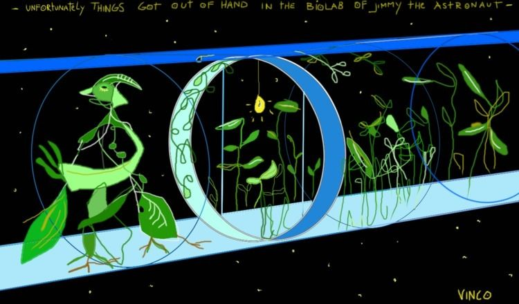 drawing, jimmy, biologist, astronaut - vinco-zierowan | ello