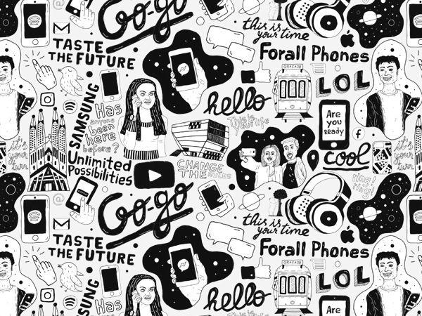commissioned brand illustration - imaginarythinking | ello